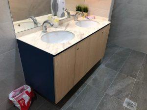 Basin installation @ Yishun