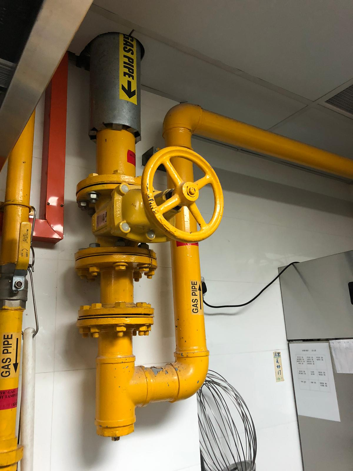 Gas inspection @ Condos MCST